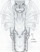 Servopent 3D Model concept art
