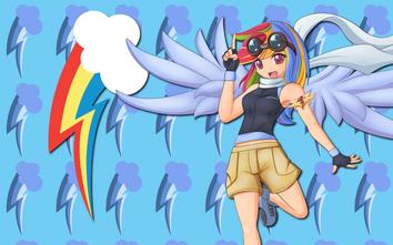 Human rainbow dash wp by alicehumansacrifice1-d4oybxu-1