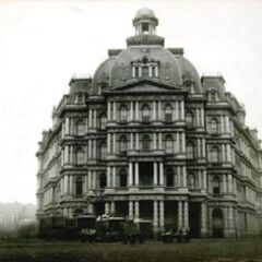 The Towney Hotel in 1929 which, albeit still standing today, has been abandoned for more than forty years and has been subject to many demolition plans, one of which is garnering supporters by the minute. Built in 1899 near the Hale Bridge, its time to serve was cut short by neglect and the ever-paltry funds of the owners'