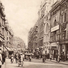 Gunhuaver Street, 1927; the street has been completely retained, Stonebrook