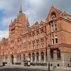 The Ambrose Hill Concert Hall, built at a time of the redbrick terracotta craze. Hailed a Victorian masterpiece, it has been Grade I listed since 1903.