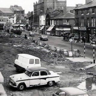 The Clearance of Tints Street, Stonebrook (now Marldon) - more office highrise buildings were constructed