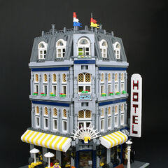 Marcie's Hotel, a 5-star business that is incredibly expensive, but is very lavish and sybaritic