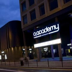 The Academy venue, built in place of a bombed factory in 1966, with Fishmarket's ringway construction.
