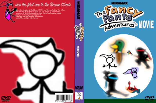File:The Fancy Pants Adventures Movie 2017 DVD Cover.png