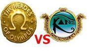 Heroes of Olympus vs Kane Chronicles