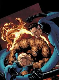 Marvel Knights Four Cover by guisadong gulay-1-