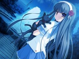 Anime-girl-with-blue-hair-in-the-moonlight-only-image-or-vivid-description-80971