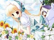 Erina before transfrom as cure jasmine
