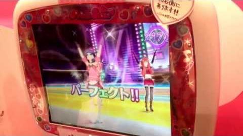Pretty Rhythm Rainbow live game