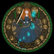 Stained glass merida by akili amethyst-d5o2loh.png
