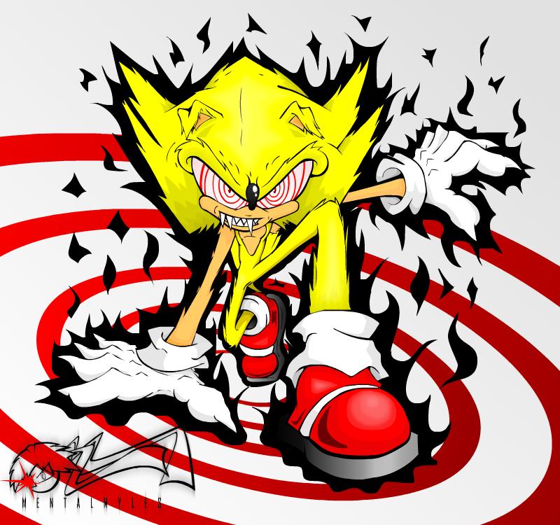 Fandom Powered By Wikia: Fleetway Super Sonic (Fleetway)