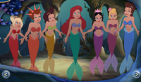 Ariel-and-her-sisters