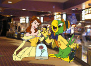 Belle and Jose Carioca Pictures 03