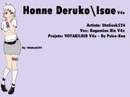 Honne Deruko-Isae - Imagem box - By UtaGeek524