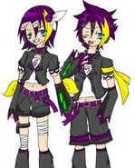 Image Gokune Rin and Len byUnknownArtist