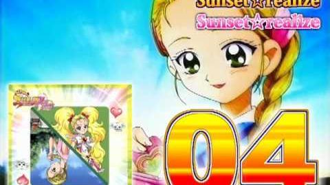 Futari wa Precure Max Heart Character Mini Album Hikari Track04