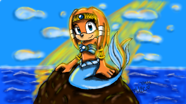 File:Tikal the merechidna by thecartoongeeks-d91xzml.png