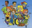 The Burger King Kids' Club Gang