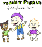 Tommy Pickles The Terrible twos cover