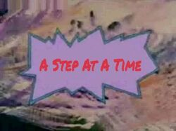 A Step At A Time title card