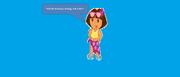 Dora asks Kai-Lan what she's doing