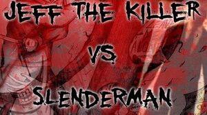 Jeff vs Slenderman