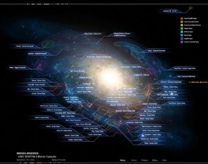 Halo Star Map