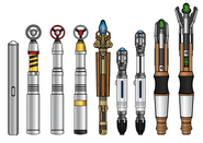 Sonic screwdrivers by cosmicthunder-d46bbej