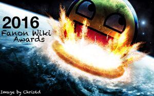 2016 Fanon Wiki Awards OFFICIAL LOGO