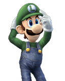 Luigi Character Selection Portraits
