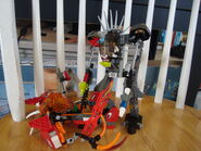 Platinum Warrior and Flame Thrower2