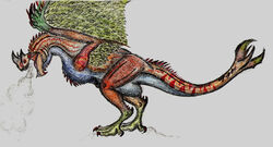 Cantios by Rathalosaurus rioreurensis