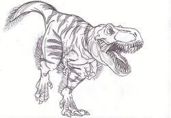 Tyrannosaurus Rex by Ukanlos Subspecies