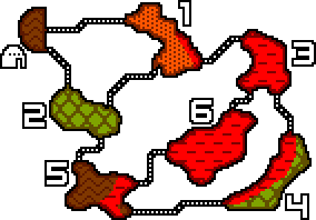 Dragonflesh Cave Map