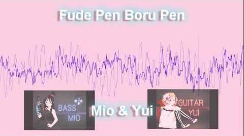 【Mio & Yui】Fude Pen Boru Pen Lyrics-0
