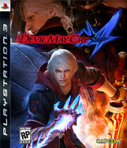 Devil May Cry 4 PS3 cover