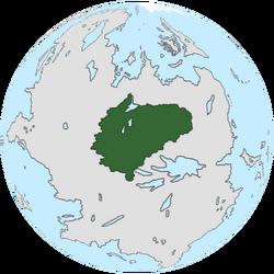 Location of Lab Rador on the globe.