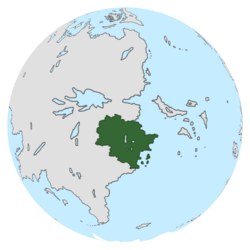 Location of Foxtavia on the globe.
