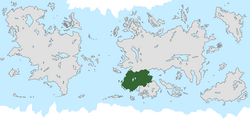 Location of Assasynia on the world map.