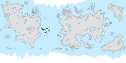 Location of Achróa on the world map.