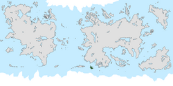 Location of the Harish Islands on the world map.