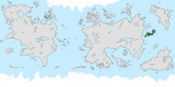Location of Pacifica on the world map.