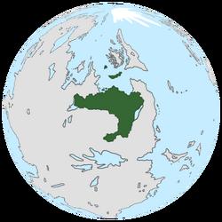 Location of Glaray on the globe.