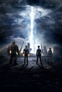 Fantastic Four Textless Poster