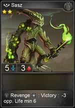 Sasz card level 2
