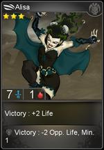 Alisa card level 3