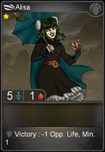 Alisa card level 1