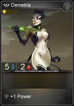 Demetria card level 1
