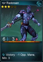 Radoraan card level 3